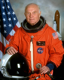 Former Ohio Senator and NASA astronaut
